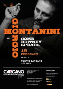 Giorgio Montanarini, Teatro Carcano